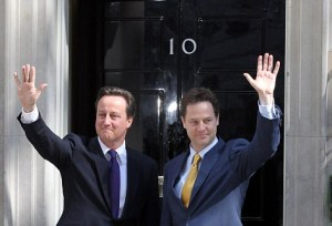 David Cameron Becomes The British Prime Minister In A Coalition Government